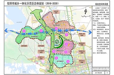 信阳市城乡一体化示范区总体规划(2016-2030)